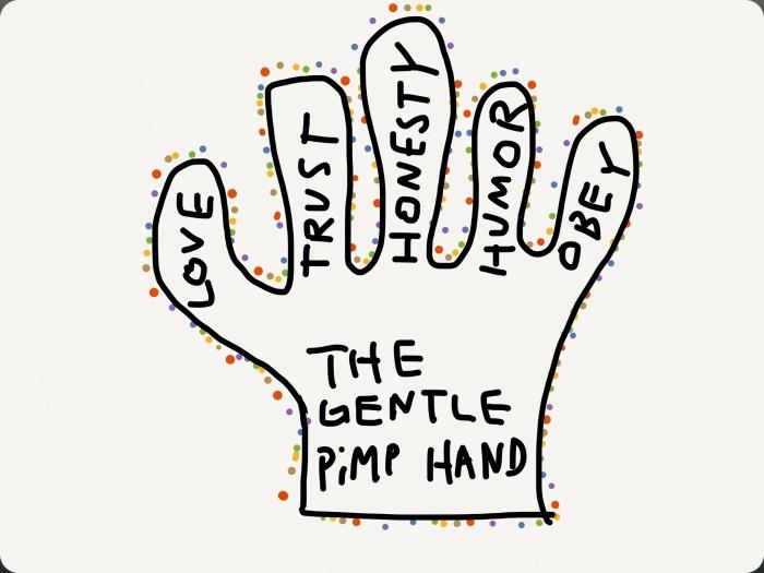 The gentle pimp hand